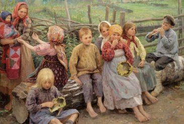 На Руси детей одевали в перешитую одежду родителей вовсе не от бедности