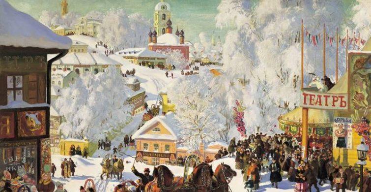 Дата и традиции празднования Масленицы на Руси itemprop=