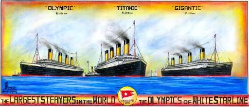 Два брата «Титаника»: история удивительных кораблей itemprop=