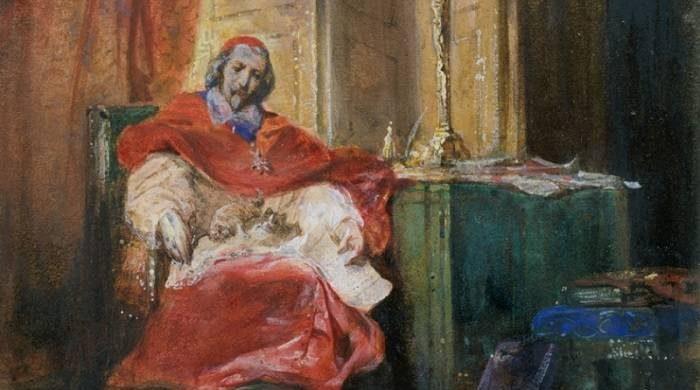 За что кошек кардинала Ришелье сожгли? itemprop=