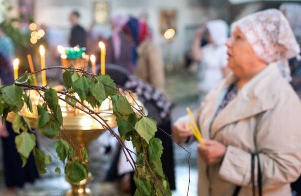 Смысл праздника Духов день, народные и церковные запреты itemprop=