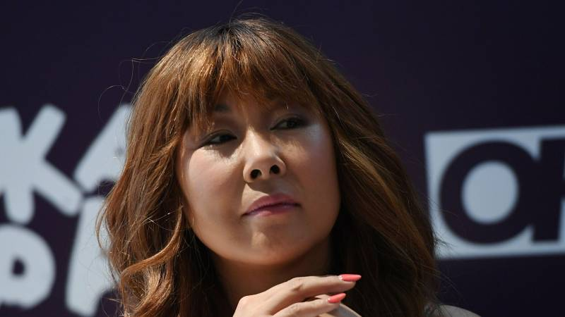 Анита Цой появилась на съемках телешоу «Дуэты»