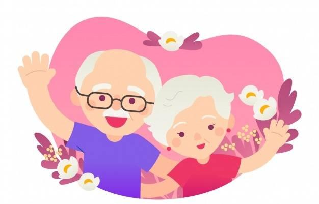 День бабушек и дедушек: поздравления