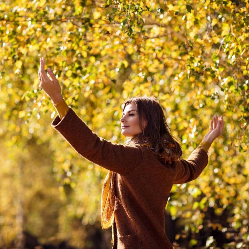 День вдыхания осеннего воздуха: картинки