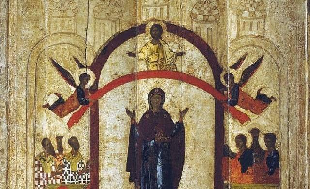 Покров Пресвятой Богородицы и Приснодевы Марии отмечают 14 октября itemprop=