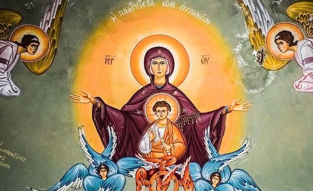 Праздник Покрова Пресвятой Богородицы празднуют Христиане 14 октября ежегодно itemprop=