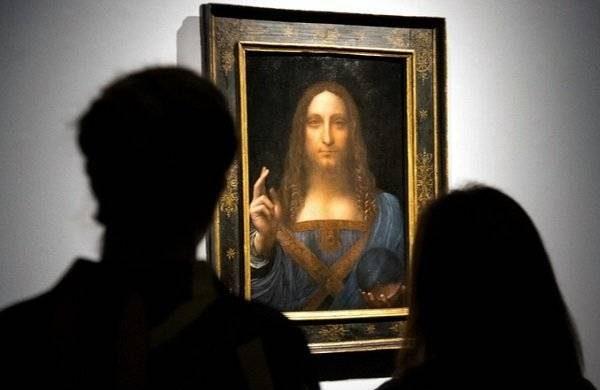 Картина Леонардо да Винчи «Спаситель мира» снова потерялась itemprop=
