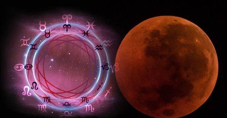 Влияние затмения и Кровавой Луны 26 мая на знаки Зодиака itemprop=