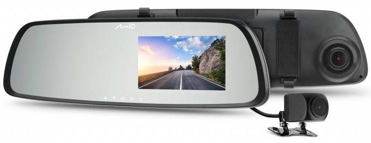 Новая серия видеорегистраторов от Mio спроектирована в виде внутрисалонных зеркал itemprop=