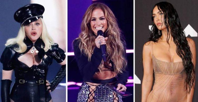 «Голое» платье Меган Фокс на премии MTV 2021 года стало самым обсуждаем нарядом красной дорожки itemprop=