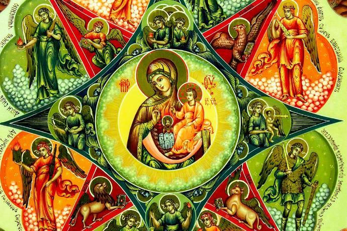 Молитва перед иконой «Неопалимая купина»